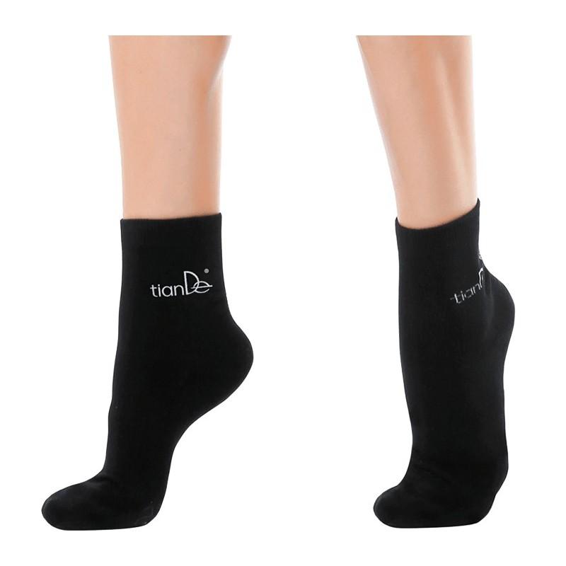 Medvilninės kojinės su kryptingu turmalino priedu, 22 cm