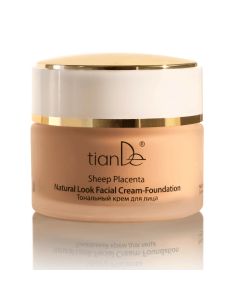Sheep Placenta Natural Look Facial Cream-Foundation for face