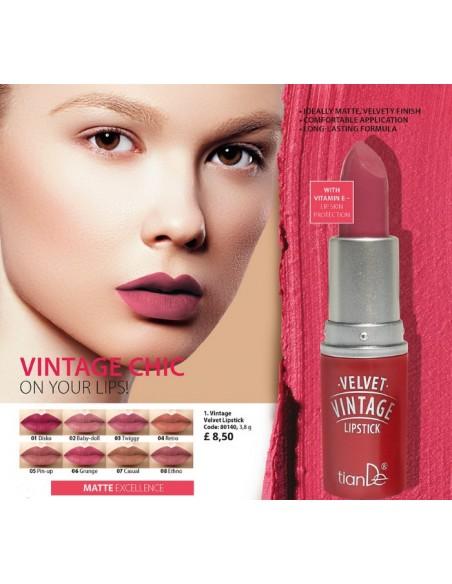 Vintage Velvet Lipstick, 3.9g