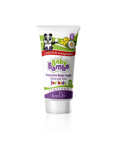 Protective Body Cream for Kids Baby Bambo, 50g