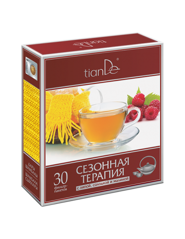 Phytotea Seasonal Therapy with Lime, Licorice and Raspberry