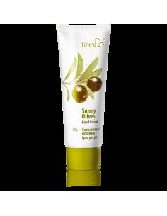 Hand Cream - Moisturizing Sunny Olives, 80g, tiande 40109