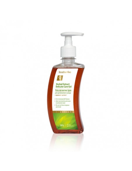 Delicate Feminine Intimate Herbal Extract Care Gel, 360g