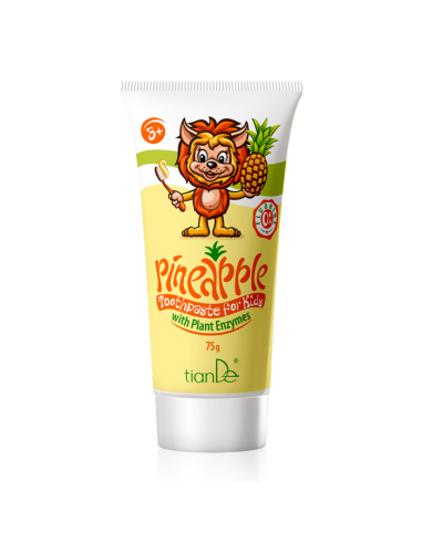 Pineapple Toothpaste with Plant...