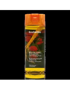 Atkuriantis šampūnas su ženšenio šaknimi 200 ml.