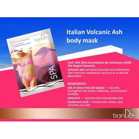 Maska do ciała z solą z Popiołem Wulkanicznym 80 g