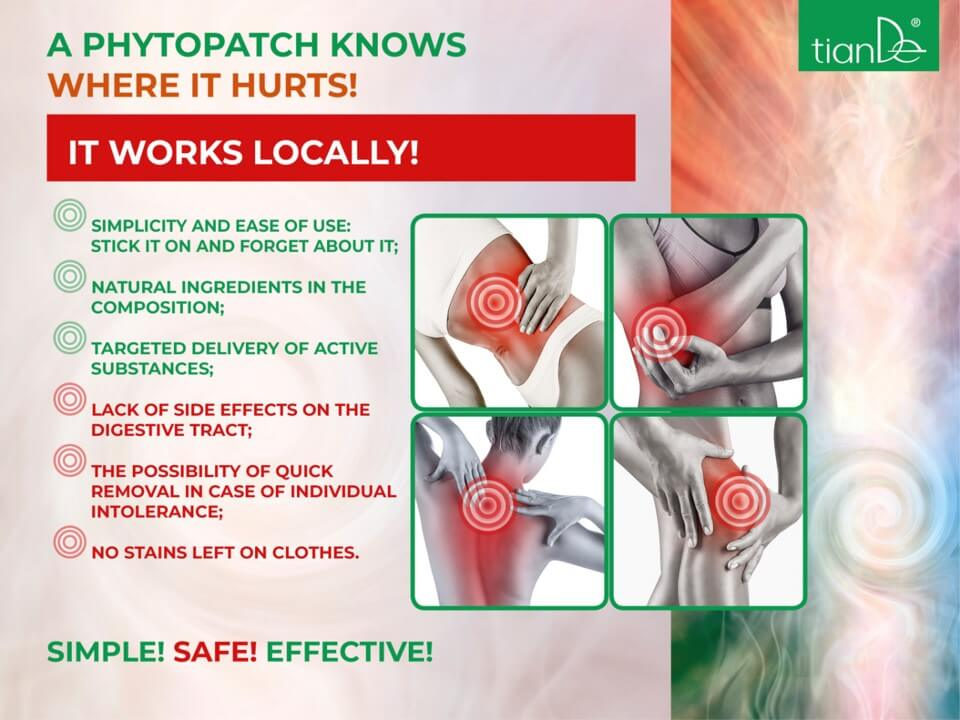 Patches - pain reduce